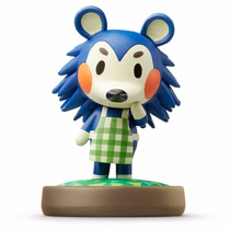 Figura Amiibo Mabel Animal Crossing Nintendo Wii U, 3ds