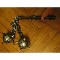 Halloween Disfraz Cadena Arma Medieval Caballero No Espada
