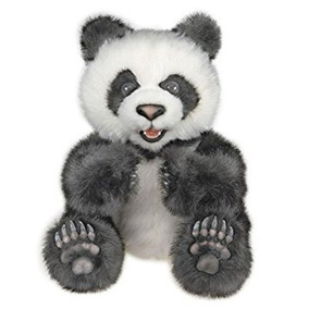 Peluche Fur Real Friends Luv Cachorros - Oso De Panda