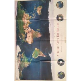 Poster Folha De S. Paulo - A Terra Vista Do Espaço