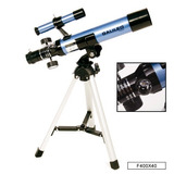 Telescopio Galileo Refractor 400x40 300x C Tripode + Brujula