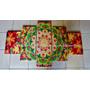 Cuadro Tripticos Modernos Abstractos Budas Feng Shui Mandala
