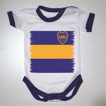 Body Bebe/recien Nacido - Boca Juniors - Personalizado