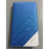 Protector Funda Flip Case Cartera Azul Lg L7x Optimus