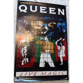 Poster Queen Oficial Live Magic