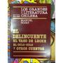 El Delincuente El Vaso De Leche - Manuel Rojas Volumen 26