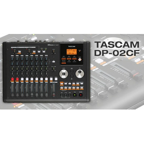 Portastudio Digital Tascam Dp-02cf Con Tarjeta Y Manual