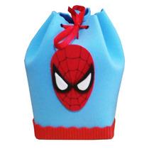 Bolsitas Golosineras Spiderman En Goma Eva.