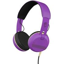 Auriculares Skullcandy Grind On-ear W/tap Violeta Y Negro