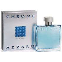 Perfume Azzaro Chrome 100 Ml Eau De Toilette Original.