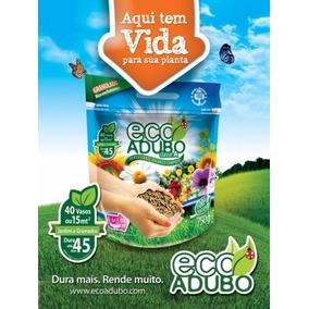 Ecoadubo Adubo Fertilizante Orgânico 100% Natural Pcte 750g
