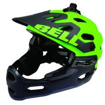 Casco Bell Super 2r Mips Dh Mtb Lime/black Talla S/ch Wow