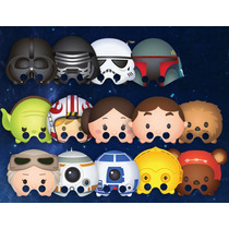Mascara Antifaz Star Wars Tsum Tsum Kylo Skywalker Vader Yod