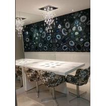 Lustre Sala De Jantar Ou Estar Cristal