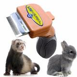 Cepillo Peine Furminator Pequeños Animales. Hurones, Conejos