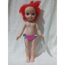 Boneca Princesa Ariel Pequena Sereia Disney Marca Cotiplás