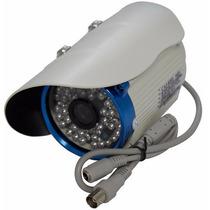 Camera Infra Vermelho 50mts Ccd Sony 1/3 1000 Linhas + Fonte