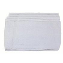Básicos De Algodón A Mano Toallas 12 Paquete Blanca