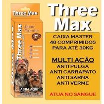 Tree Max Anti Pulgas Tipo Bravecto. Cx. 48 Compr. P/ 30kg.