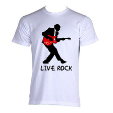Camiseta Save Rock N Roll  Live Rock