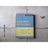 Sinónimos Castellanos - Roque Barcia - Sopena