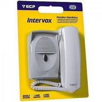 Kit Porteiro Eletrônico Intervox Cinza Ecp