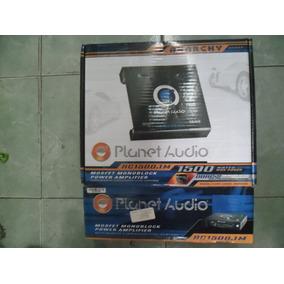 Planet Audio Amplificador 1500 W Monoblock Control De Bajos