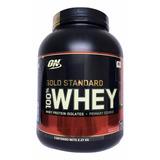 Proteina Gold Standard 100% Whey 5 Lb Sabor Fresa