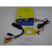 Placa Captura Externa Usb Audio Video Vhs Dvd Conversor Pc