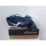 Zapatos Tacos Beisbol Softbol Mizuno Spike Franchise Azul