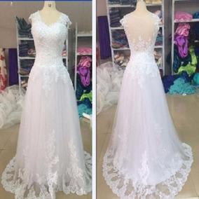 Vestido De Noiva Princesa, Vestido De Noiva Rendado 42