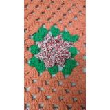 Tapete De Croche Quadrado Em Barbante N 06
