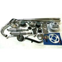 Kit Cg 125 77 / 82 Bolinha Relação Farol Carburador Coletor