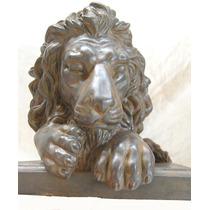Leão Deitado De Petit Bronze ( Cod 186 )