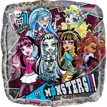 Globo Monster High Paq 10 Pzas Medida 9 Pulgadas Centro Mesa