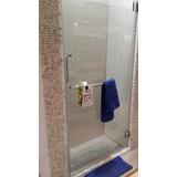 Puertas Baño Para Duchas Batiente En Vidrio Templado Aqualia