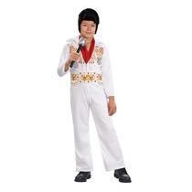 Niño Elvis Medio De Vestuario,