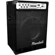 Amplificador Combo Para Bajo Randall Rb100xe 100 Watts 1x15