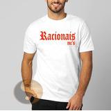 Camiseta Racionais Rap Promoção A Melhor Camisa - Top Do Ml