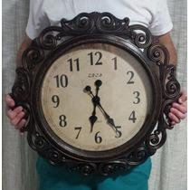 Relógio De Parede Muito Grande Modelo Clássico Retro Vintage