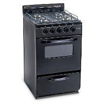 Cocina Martiri 50 Cm New Black Gas Natural Negra Permuto