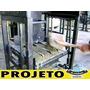 Projeto Máquina De Fazer Blocos De Cimento Ganhe Dinheiro!
