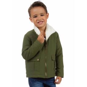 Jaqueta Infantil Menino Zig Zag Carinhoso Pelo