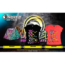 Blusa - Wicked Surf And Skate - Colección 2017