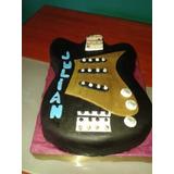 Torta Artesanal Guitarra