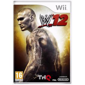 Jogo Wwe 12 2012 Nintendo Wii Novo Lacrado Luta Livre