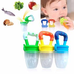 Chupeta Alimentadora Bico Para Bebê Mordedor Papinha Frutas