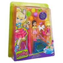 Polly - Conjunto 2 Amigas O Melhor Dia - Brincando Com Bichi