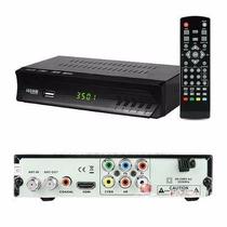 5 Conversor Tv Digital Função Gravador Full Hd Usb Rca Hdmi