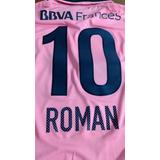 Camiseta Boca Rosa 2014 Original Match L Y Xl Riquelme